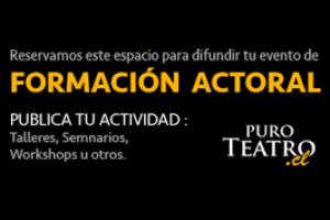 Publicar Aviso de Formación Actoral